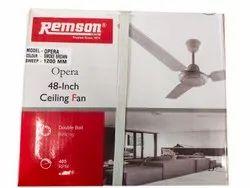 Smoke Brown Remson Opera Ceiling Fan, Sweep Size: 1200mm (48 Inch), Fan Speed: 405 Rpm