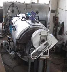 Solid Fuel Fired 2.5 TPH Three Pass Packaged Steam Boiler IBR Approved