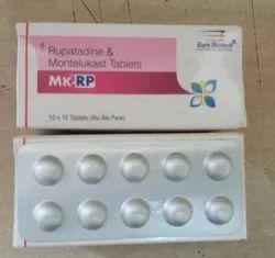 Rupatadine & Montelukast Tablets 10mg