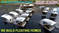 Floating Homes House Boat Floating House Builders