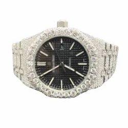 DEF VVS Moissanite Studded Diamond Watch 2