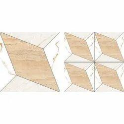 Multicolor 3D Vitrified Design Tiles,, For Flooring