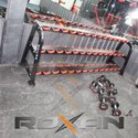 Roxan Gym Dumbbell Rack 3 Tier