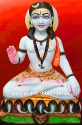 Marble Gorakh Nath Statue