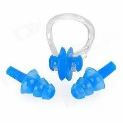 Swim Ear Plug and Nose Clip Set
