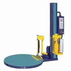 Semi Automatic Pallet Stretch Wrapping Machine