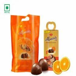 T Con Round Mandola Orange Chocolate