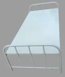 White Powder Coated Stainless Steel Single Bed, For Hostel