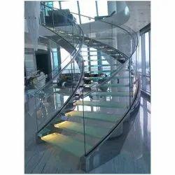 Balcony Panel Stainless Steel Glass Railing