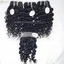 Black Women Raw Indian Temple Hair