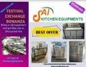 Commercial Double Deck Four Tray Gas Oven