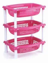 Plastic oval rack