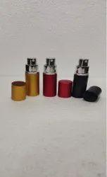 Round Red Perfume Spray Plastic Bottle, Capacity: 15ml
