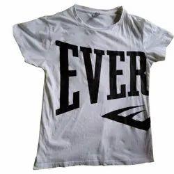 Cotton Mens Sublimation Print T Shirt, Size: Medium