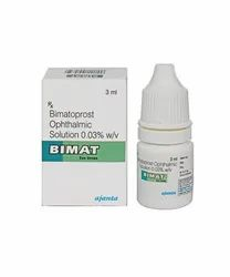 Bimatoprost Ophthalmic Solution Eye Drop, Packaging Size: 3 Ml