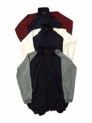 Plain Full Sleeves Mens Lycra Sports Jacket