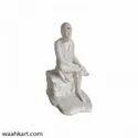 Sai Baba Statue In White Colour