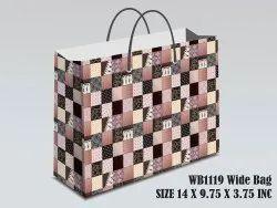 Medium Wide Gift Bag