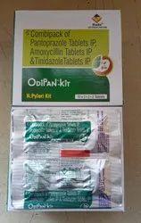 Pantoprazole+Amoxycillin+Tinidazole