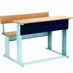 Classroom Dual Desk Bench
