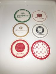 Glass Round Coasters