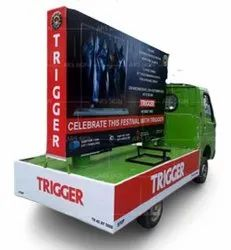 Mobile Van LED Display Advertising Service, For Advertisement, In Pan India