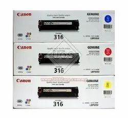 Canon 316 Toner Cartridge Color