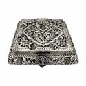 Silver Plated Jewellery Box For Corporate Gift