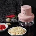 Mini Electric Chopper with USB Charging Cable
