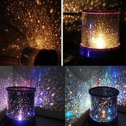 Color Full Star Master Projector Night Lamp