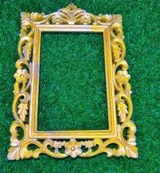 Golden Antique Wooden Photo Frame, Size: 8x6 Inch