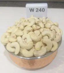 Natural Wholes Plain Cashew Nuts, Grade: W240