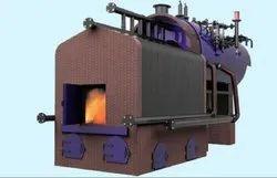 Coal Fired 3000 kg/hr Water Wall Membrane Type Steam Boiler