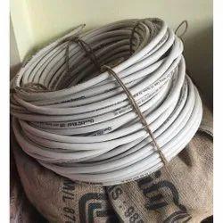 White HOFR Welding Cable