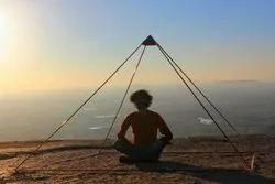 6 feet copper meditation pyramid