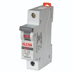 Elcon Mr.SAFETY 32A Single Pole Miniature Circuit Breakers Mcbs