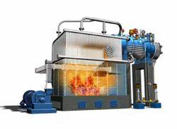 Coal Fired 4000 kg/hr Water Wall Membrane Type Steam Boiler