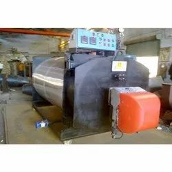 Oil & Gas Fired 0.1-2 Mcal/hr Three Pass Fully Wetback Packaged Type Hot Water Boiler