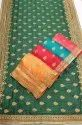 Janasya Women's Multicolor Vichitra Silk Embroidered Saree With Blouse Piece(JALEBI-Pack of 5)