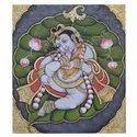 Baal Krishna Tanjore Painting