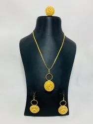 1gm Gold Plated Pendant