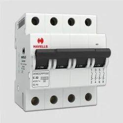 6-32 Amp 4P MCB Havells