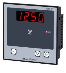 WM-11 Single Phase AC Panel Meter