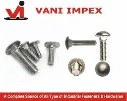 M 6 To M 12 Din 603 SS Carriage Bolt