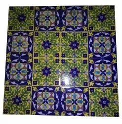 4X4inch Blue Pottery Tiles