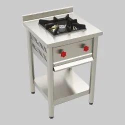 Commercial Single Burner Range, For Restaurant, Model Name/Number: 1
