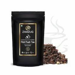 Zamzug Darjeeling Black Supreme First Flush Tea, Leaves, Pack Size: 100gm