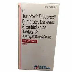 Hetero Healthcare Trustivia Tablets, 30 Tablet, Prescription
