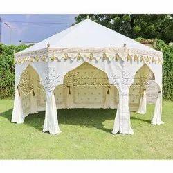 Exotic White Pavilion Tent