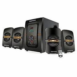 Gizmore GIZ Squad Pro 4110 5000W P.M.P.O Bluetooth, AUX, USB, FM Radio & Micro SD Card